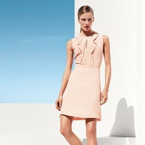 Hugo Boss Dilenka Peach Pink Dress